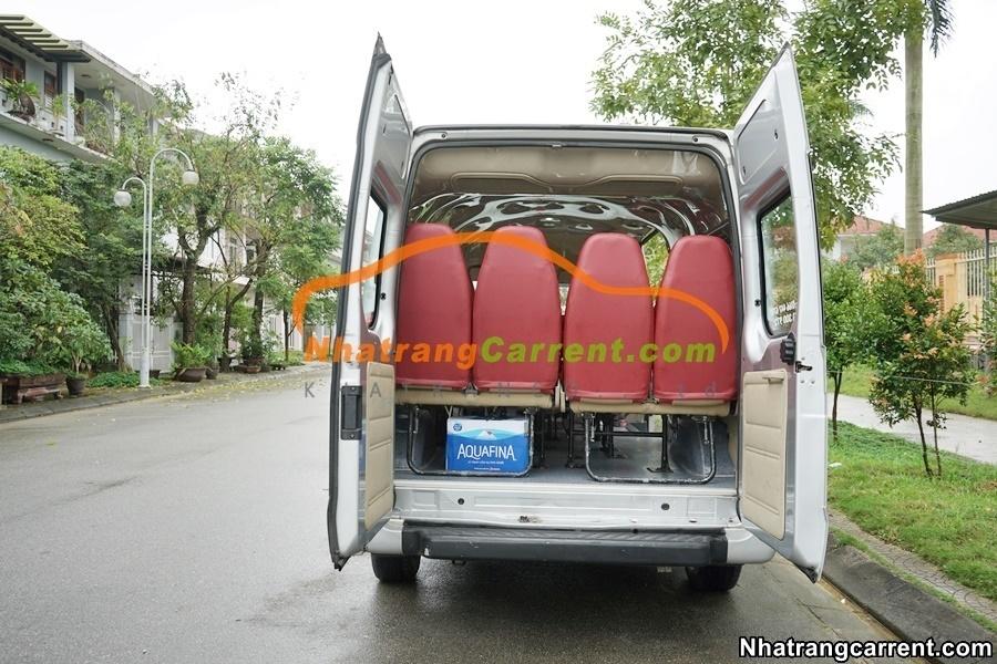 16 seats tourist car rental Nha Trang