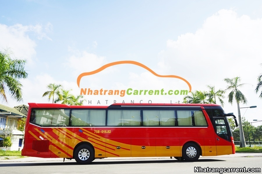 Hire 45 Seater Luxury Coaches Nha Trang