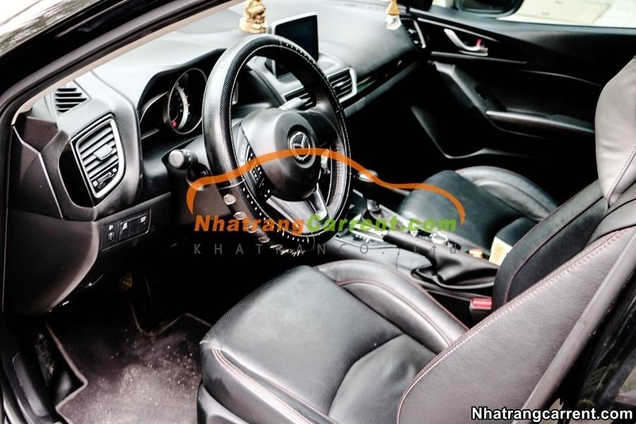 4 seat Mazda 3 car rental in nha trang vietnam