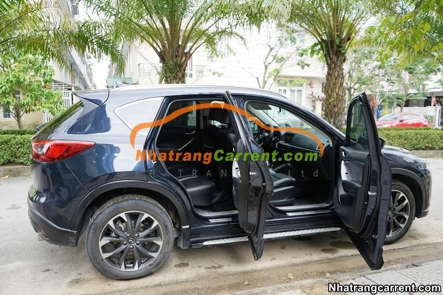 4 seat Mazda CX5 Nha Trang car hire