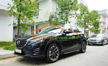4 seat Mazda CX5 Nha Trang car rental