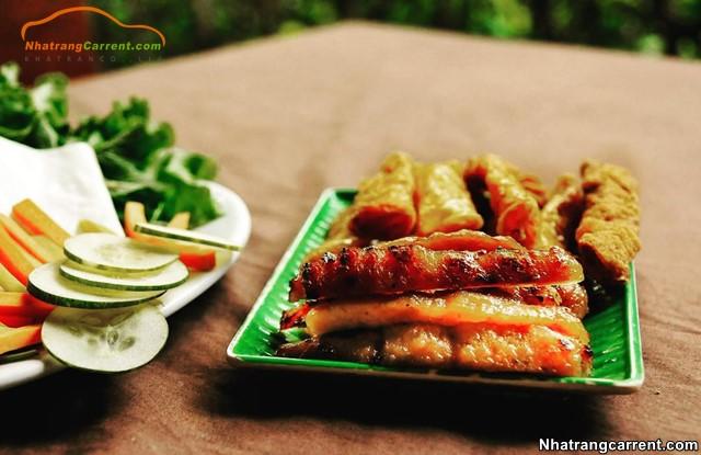 Nem Grilled Ninh Hoa - Nha Trang food