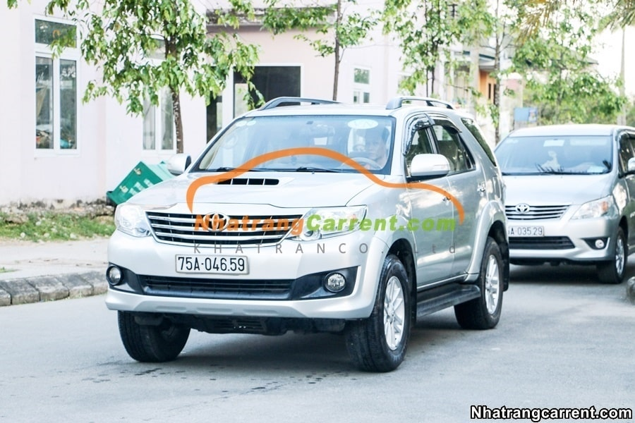 7 seater car hire Fortuner tourist Nha Trang
