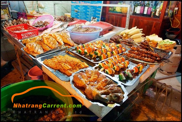 Nha Trang Night market cuisine