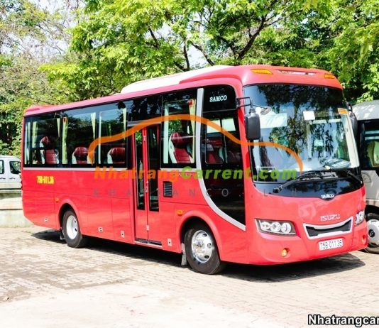 35 Seater Luxury Bus Rental in Nha Trang